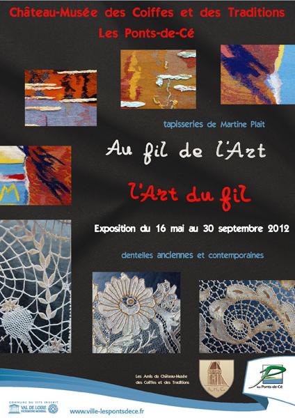 """été 2012:  """"Au fil de l'Art, l'Art du fil"""""""
