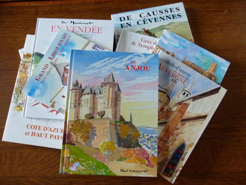 quelques livres de Paul Maudonnet
