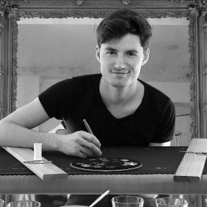 Mathias Ouvrard dans son atelier Crédit Photo Mathias Ouvrard